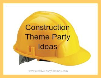 lots of ideas to help you plan a theme party including suggestions for invitations