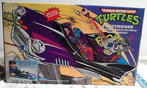 Vintage 1989 Teenage Mutant Ninja Turtles FOOTCRUISER Veh... https://www.amazon.com/dp/B001P7L8Q2/ref=cm_sw_r_pi_dp_x_QNAtybA6TBPZV