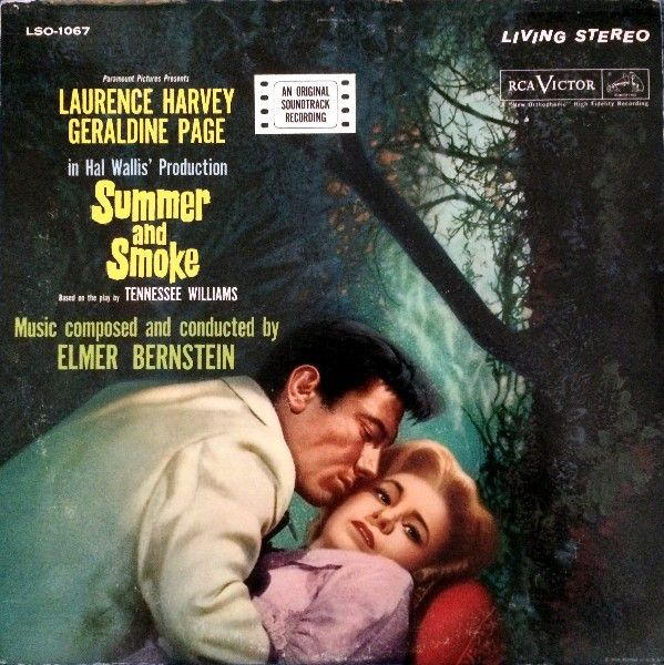 Elmer Bernstein - Summer And Smoke (An Original Soundtrack Recording): buy LP, Album at Discogs