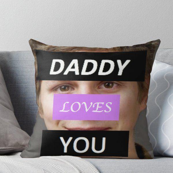 Michael Cera Daddy Throw Pillow