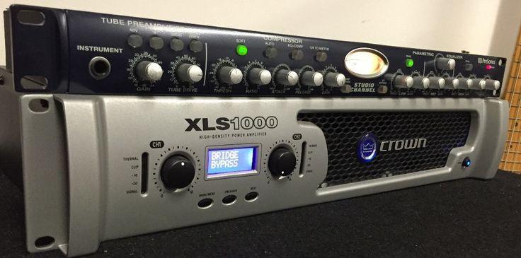 Sam Lloyd's Bass Rig Crown XLS 1000 Power Amp