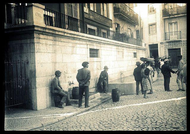 Lisboa de Antigamente: Largo do Chafariz de Dentro