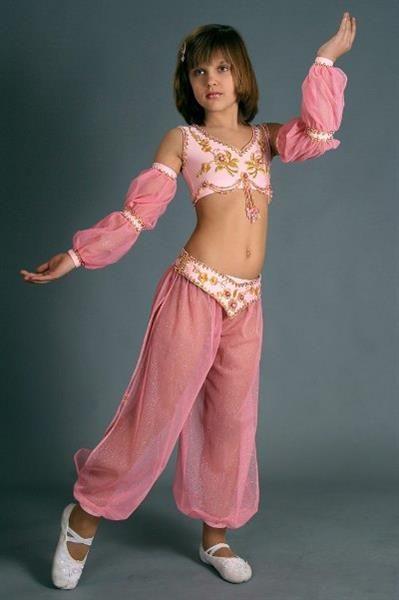Танцевальный восточный костюм для детей