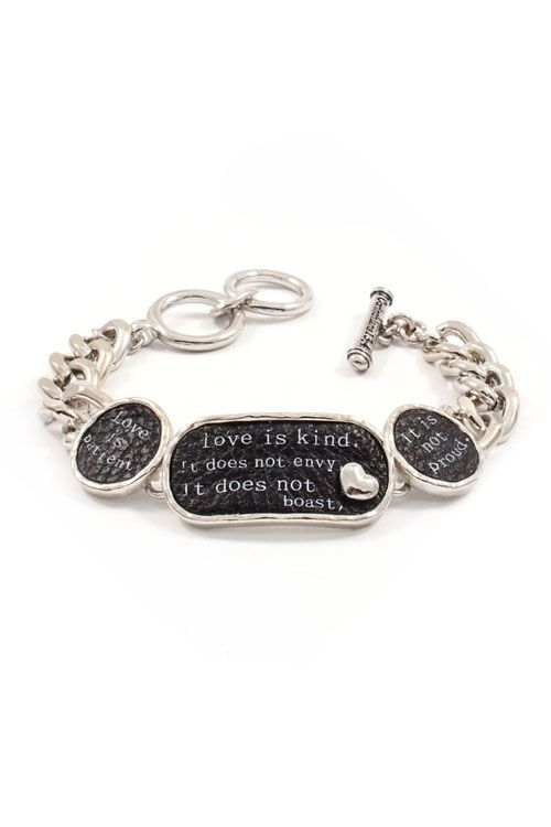 Love Is Kind Bracelet