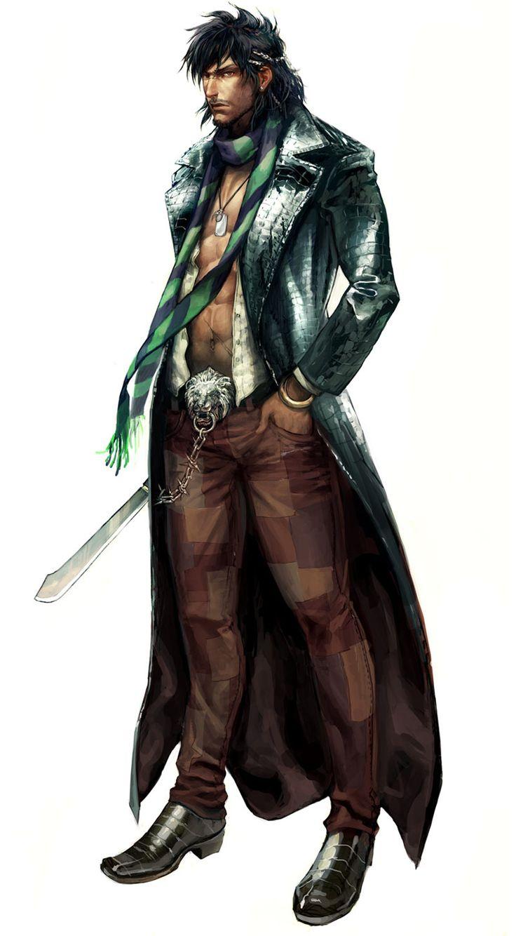 Machete - Characters & Art - All Points Bulletin