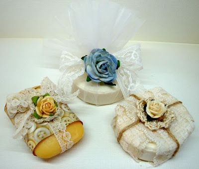 Wrapped guest soaps