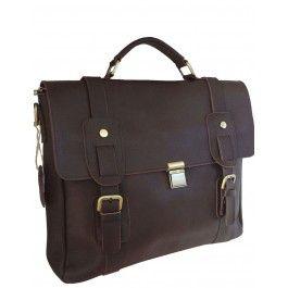 Levan -- Top Grain Cowhide Leather Business/Messenger Bag| Free Shipping| Fabhere.com.au