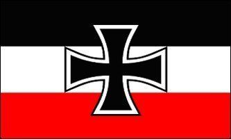"""NEW 3X5 Germany WWI Iron Cross JACK FLAG German Banner by WILDFLAGS. $0.23. Includes 2 Brass grommets for hanging!. Lightweight and great for hanging inside and out doors. Double sewn edges for durability. Brand new 3' x 5' (36"""" x 60"""") Polyester German Jack flag. By decree of Wilhelm I (as head of state) on 4 July 1867, the Kriegsflagge (war ensign) of the North German League and the Kriegsgösch (jack) were established. By the Cabinet Order of 10 September 1867, ef..."""