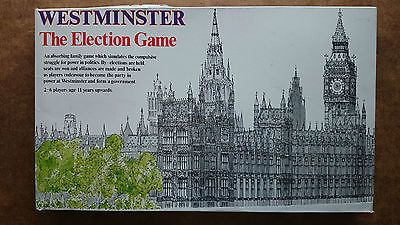 Vintage Westminister The Election Game by Gibsons 1983 ..Unplayed