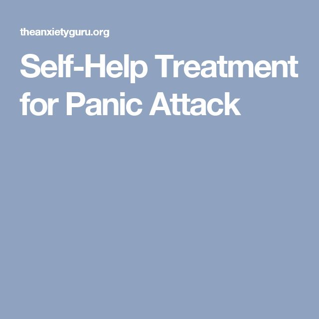 Self-Help Treatment for Panic Attack