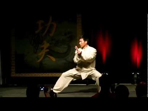San Jose Kung Fu Tai Chi night, Master Chen Bing