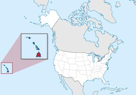 Hawaii is the only one composed entirely of islands. And is located in the central Pacific Ocean.Hawaii is the only U.S. state located outside North America.