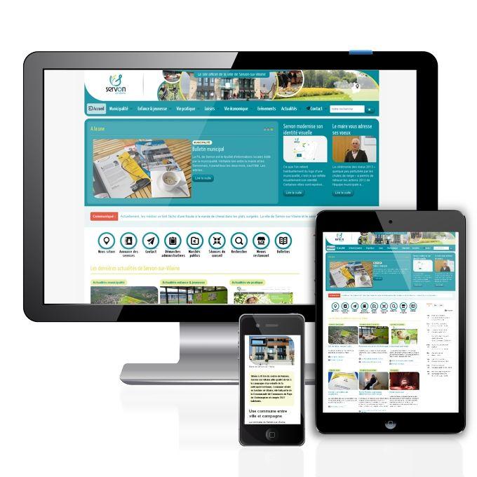 Création du site internet d'une mairie