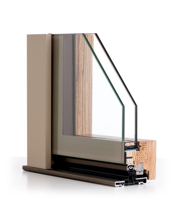 ISIK Se  in legno vetro strutturale con lastra esterna serigrafata.