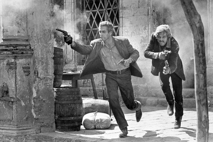 """Iconic last image from """"Butch Cassidy and the Sundance Kid"""""""