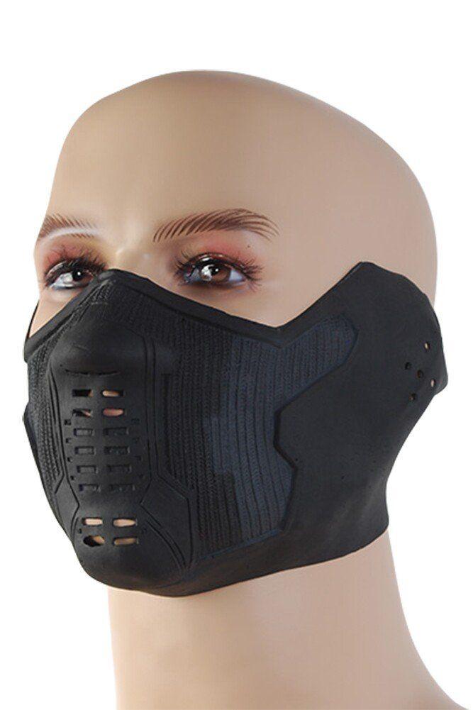 Caleshop Winter Soldier James Buchanan/Bucky Barnes Cosplay Latex Mask