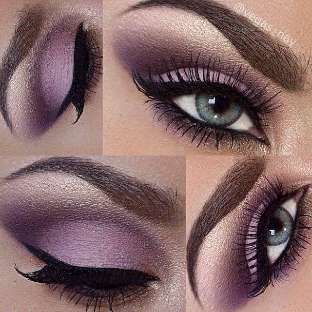 Loving this plum smokey eye? Then follow @vegas_nay (if you're not already)