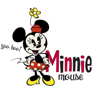 Minnie Mouse from the Mickey Mouse series.