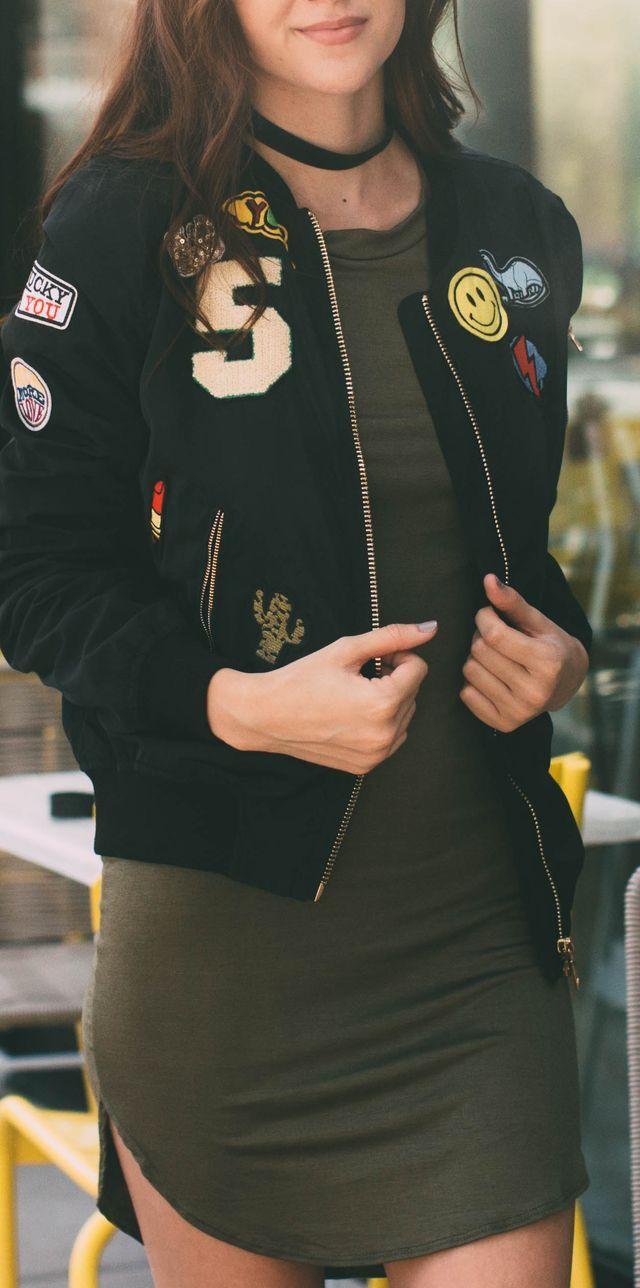 Bomber jacket, virando tendência novamente.