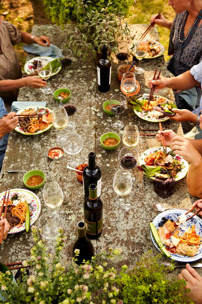 I like Summer, especially when spent with good food, good wine, good friends, and good times. Or really, any season spent that way.... ~~ Houston Foodlovers Book Club