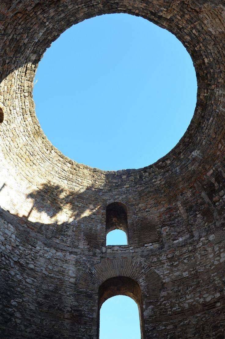 Emperor Diocletian's Palace, Split, Croatia.