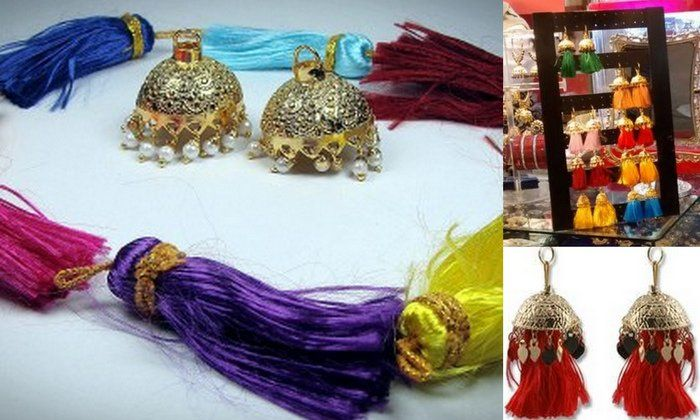 Wedding Gifts For Friends In Chennai : 17 Best images about Thread & cord jewelry on Pinterest Earrings ...