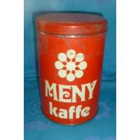 Kaffedåse , Meny  ældre