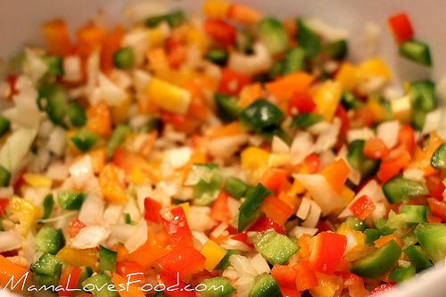 Stuffed Peppers {Mexican Style} by MommyNamedApril, via Flickr