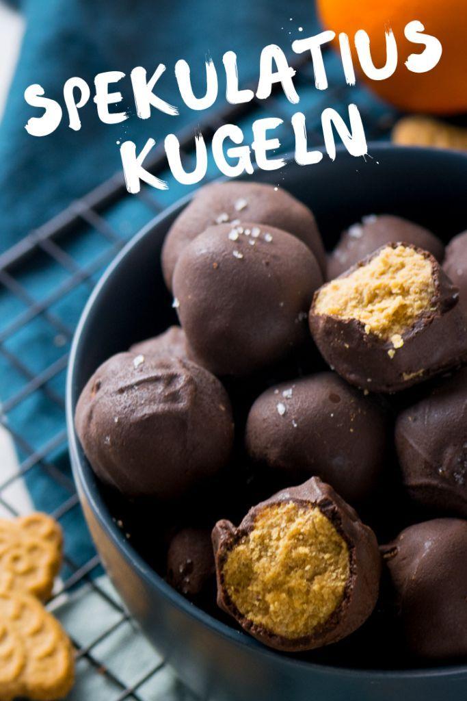 Speculoos balls with peanut butter   – *Süße Rezepte auf EINFACH MALENE*