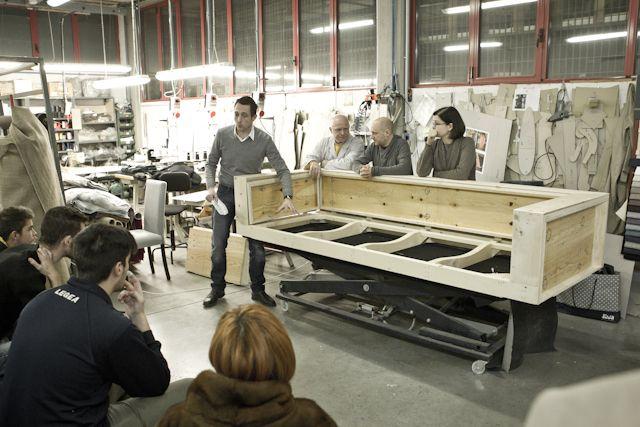 #divanoXmanagua: the second session at the Berto Salotti Laboratory in Meda (Italy)