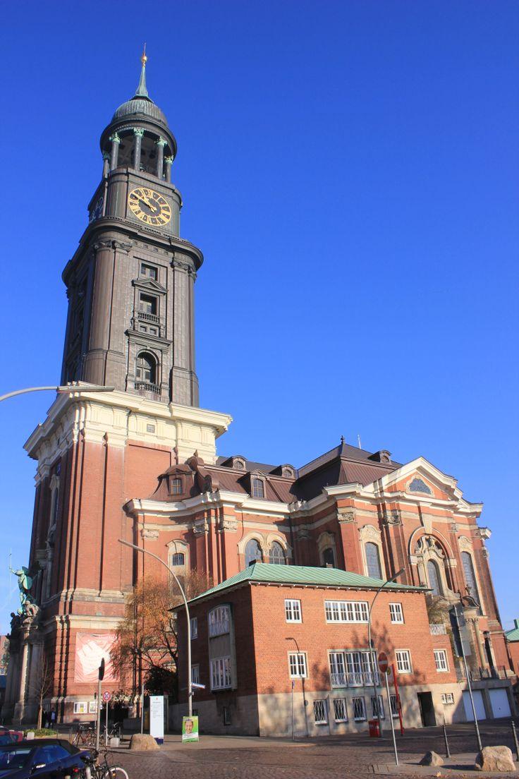 ST. MICHAELIS CHURCH . HAMBURG
