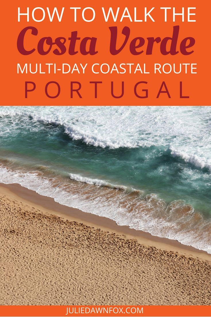 The Camino da Costa pilgrimage route in Portugal offers an attractive alternative to the more traditional central pilgrim trail through Portugal and Spain, but if you dream of spending days by the ocean, this ancient path is not necessarily the best hiking route for you. Click through to find out about an amazing coastal alternative walking route along the Costa Verde in Portugal. | Julie Dawn Fox in Portugal #camino #portugal #costaverde #walking