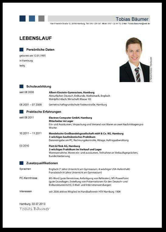 Schön Zeig Mir Einen Guten Lebenslauf Galerie - Entry Level Resume ...