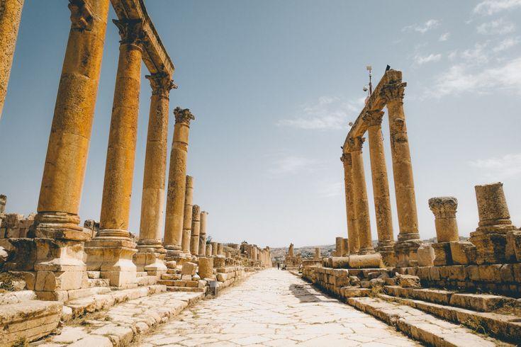 The Roman Ruins of Jerash Jordan Solo Traveler's...