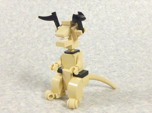 レゴブロックで作ったエレキング