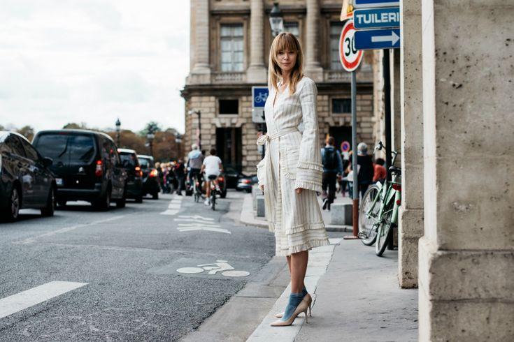 Sokak Stili: 2017 İlkbahar/Yaz Paris Moda Haftası 5. ve 6. Gün