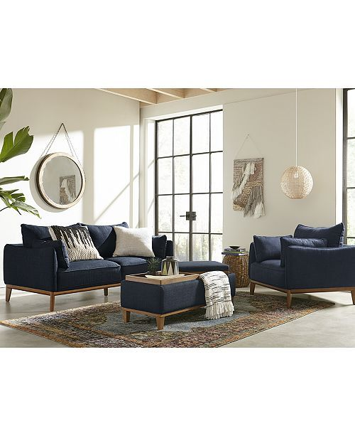 "Jollene 78"" Fabric Sofa, Created For Macy's"