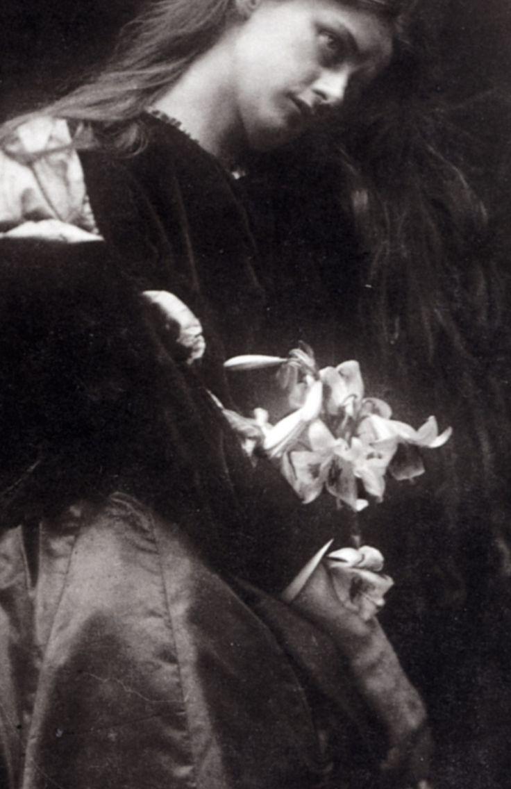 Julia Margaret Cameron, Gretchen(detail), c. 1870-74.