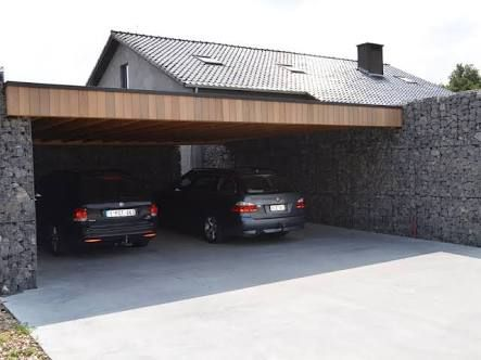 Carport accol maison trendy ft x ft vinylcoated steel for Garage top car marseille