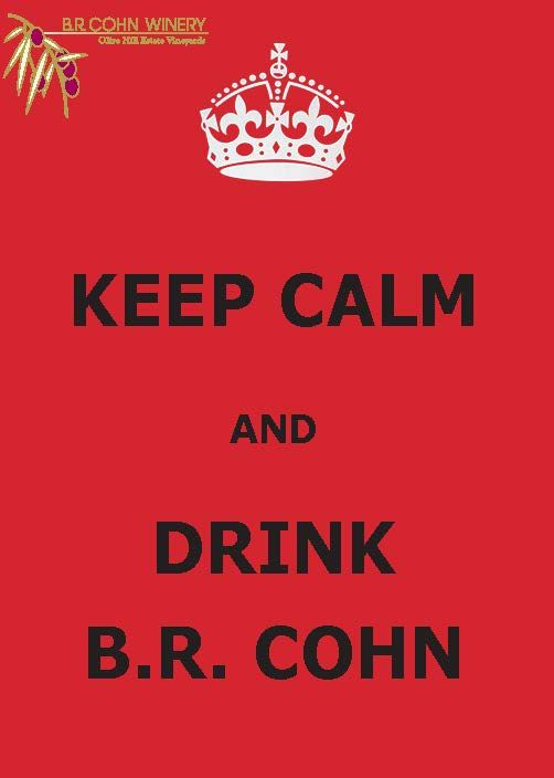 Keep Calm, wine is here