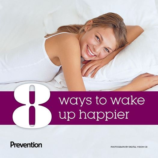 8 Ways To Wake Up Happy - Rise and shine! Here's how to start the day refreshed and ready-to-go.
