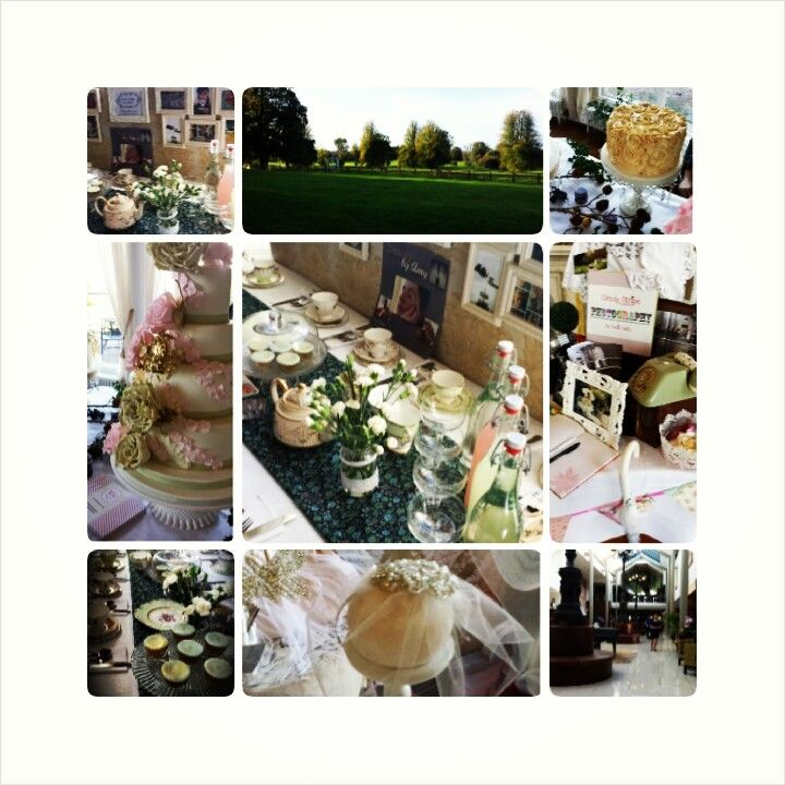 A collage of our time at the Spectacular Vintage Wedding Fair.