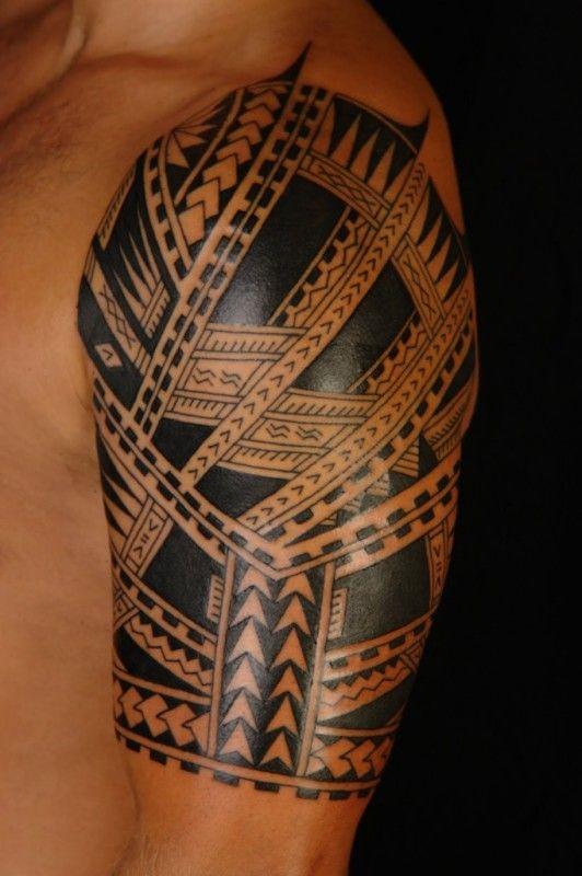 Best 25 tatouage maorie epaule ideas on pinterest tatouage tribal epaule tatouages tribaux - Tatouage tribal epaule ...