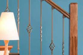 Best Adjustable Wrought Iron Balusters Wrought Iron Stairs 400 x 300