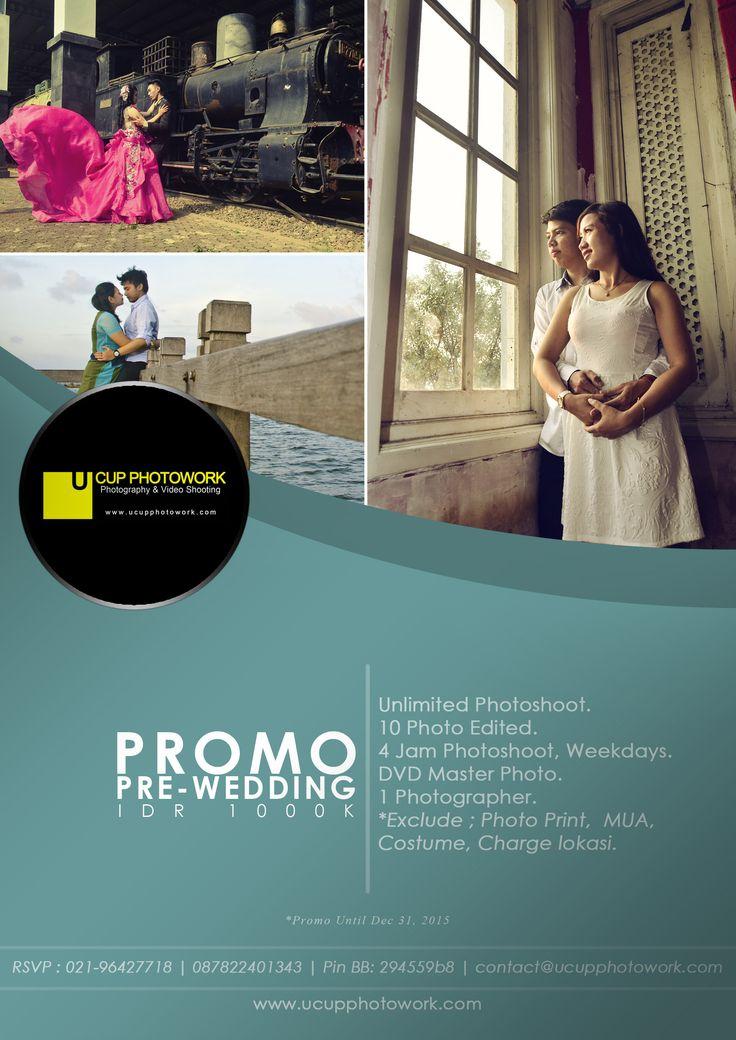 #promo #prewedding #wedding #murah #jakarta #depok #bekasi #pranikah #prewed #prawed #fotografer #professional #photographer #freelance #kameraman  contact : phone : 021-96427718 phone / sms / wa : 0878 2240 1343 bbm : 294559b8 email: contact@ucupphotowork.com http://www.ucupphotowork.com
