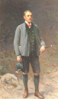 Zygmunt Ajdukiewicz: Portret Herr von Ritter