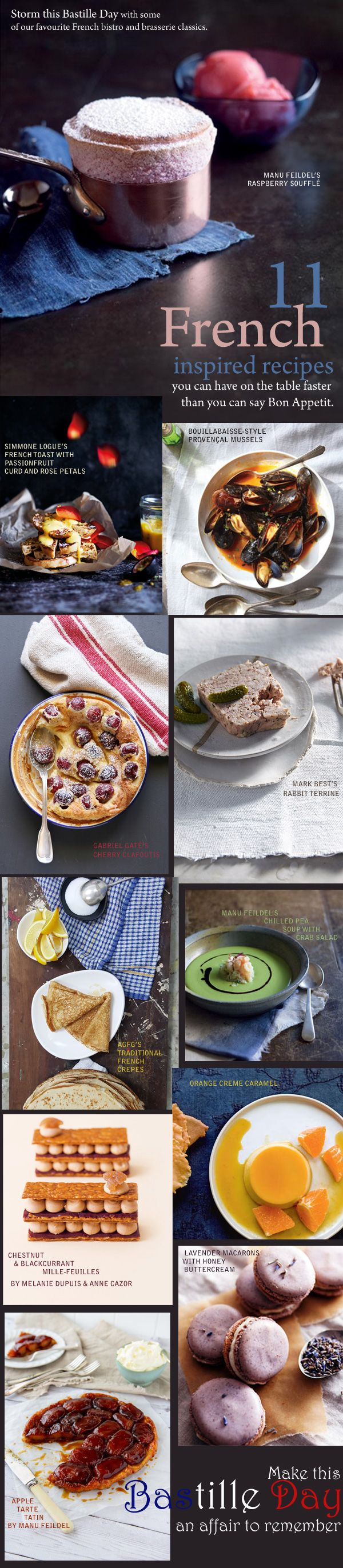 11 French Inspired Recipes from the Best
