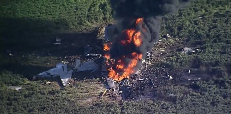 "{   #SOFREP ... ""A Marine Corps KC-130, or similar variant of aircraft, crashed in Western Mississippi on Monday night, killing as many as 16 people. Frank Randle, director of emergency management for LeFlore County, told reporters that 16 bodies have been removed from the crash site that spans over five miles."".... https://sofrep.com/85459/marine-corps-kc-130-crashes-in-mississippi-16-reported-dead/"
