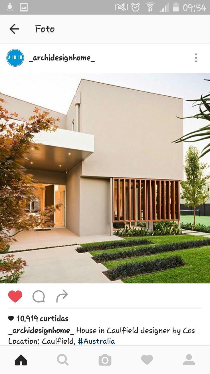 49 best Arquitetura - casas e fachadas images on Pinterest ...