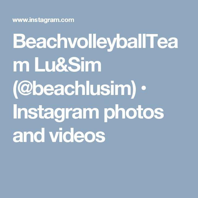 BeachvolleyballTeam Lu&Sim (@beachlusim) • Instagram photos and videos